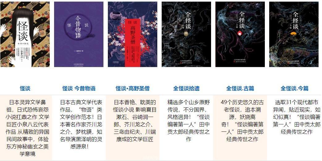 全怪谈:扶桑鬼话 (套装6册) epub,mobi,azw3电子书下载